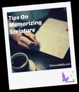 Tips Scripture