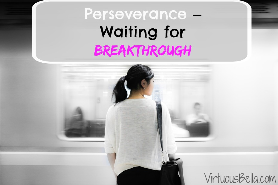 Perseverance – Waiting for breakthrough